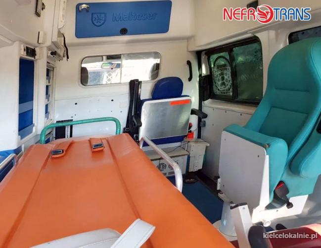 Transport medyczny, sanitarny, pacjentów, osób niepełnosprawnych