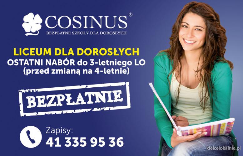 Liceum Ogólnokształcące dla Dorosłych Cosinus I Semestr