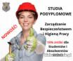 Studia podyplomowe BHP - 3/4 zajęć system zdalny!